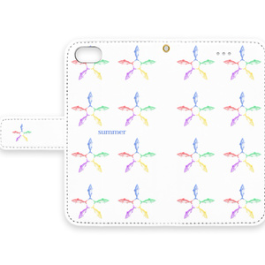 2017 サバターン手帳型iPhoneケース
