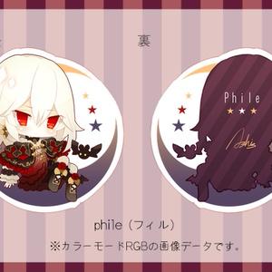 【オリジナル】フィルアクキー