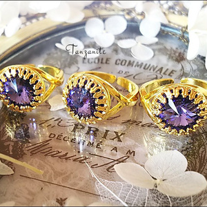 *気品ある紫のラグジュアリーリング-Vintage-*