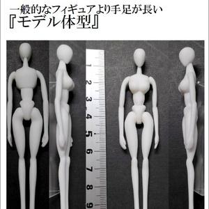 オリジナル 約1/20スケール〈女形〉汎用素体