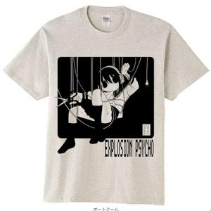 爆発電波Tシャツ「コンセント」