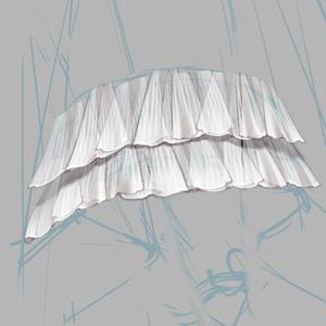 CLIP STUDIO PAINT(クリスタ)透明レース ブラシ5枚