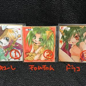 【匿名発送】ミニ色紙 アーケードゲームキャラ