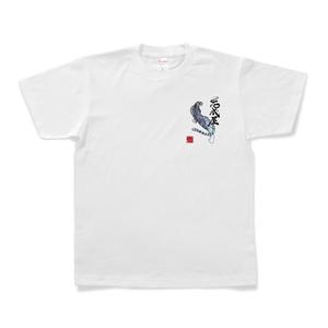 ワンポイントTシャツ【白虎】