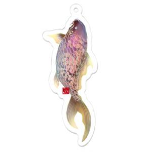 桜錦【雌】鯉アクリルキーホルダー