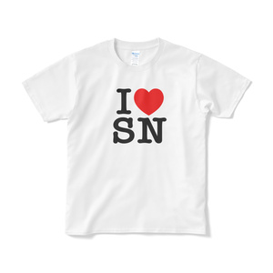 I LOVE SN Tシャツ(白)