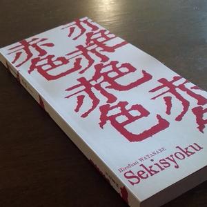 渡邉浩史歌集『赤色 Sekisyoku』