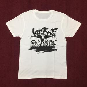 Croak Not Rue かぼちゃロゴTシャツ