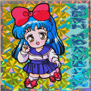 '80s'90sCOLLECTION♥よっきゅんシール(3枚セット)
