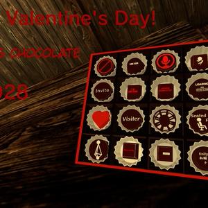 【VRchat向け】 バレンタインチョコレート