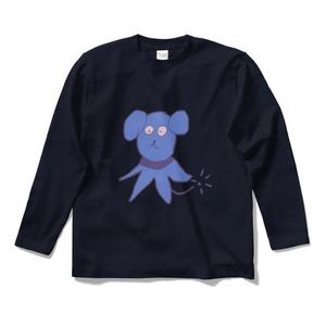 犬Tシャツ(青)