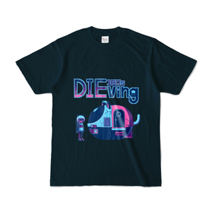 180sDIEving Tシャツ