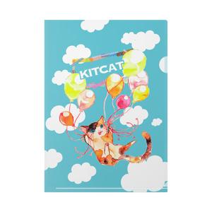 kitcatクリアファイル