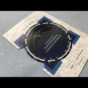 【在庫限り】ミニ星座早見盤カード【送料込】