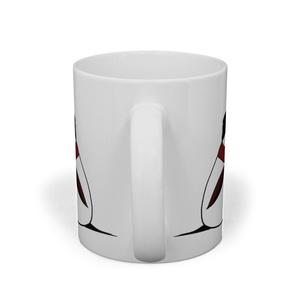 冬エナガのマグカップ