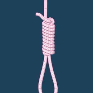 【3D小物】首吊りロープ
