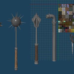 オールインワンテクスチャ武器版+サンプル武器80個!入
