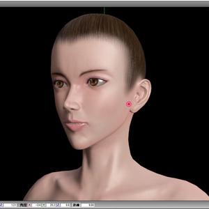 【MMD】【FBX】リアル女性用素体モデル