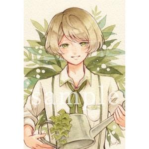 ポストカード「Minoru」