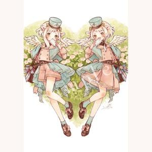 ポストカード「春の便り」