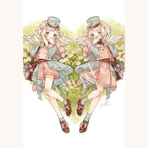【原画】春の便り