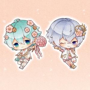 ボーイフレンド(仮)桜時祭アクリルボールチェーン