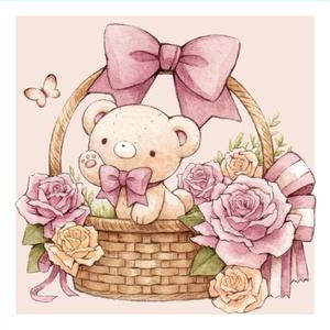 ポストカード「Spring bear」