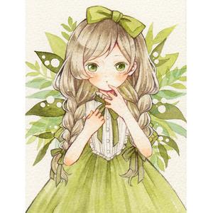 ポストカード「Minori」