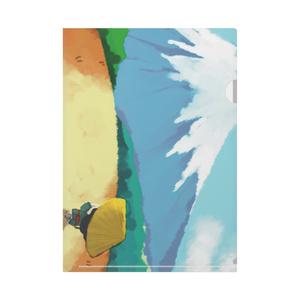 クリアファイル 富士山
