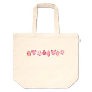 赤とピンクの宝石たち トートバッグ
