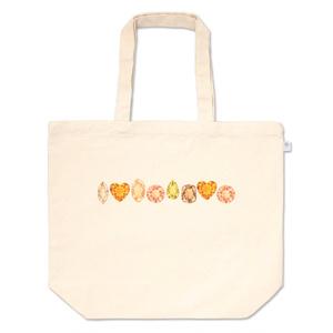 黄色とオレンジの宝石たち トートバッグ