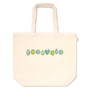 緑の宝石たち トートバッグ
