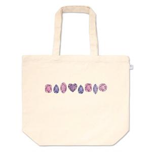 紫の宝石たち トートバッグ