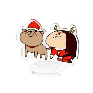 いぬさやクリスマス アクリルフィギュア