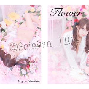 2018夏【Flower】紙媒体