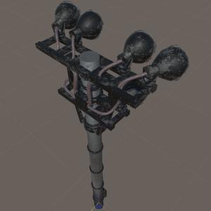 投光器 ~街灯・ライト~ 3Dモデル