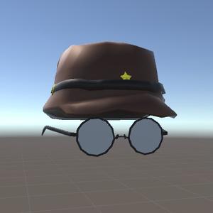 【軍帽△985】GUNBOUと【眼鏡△472】