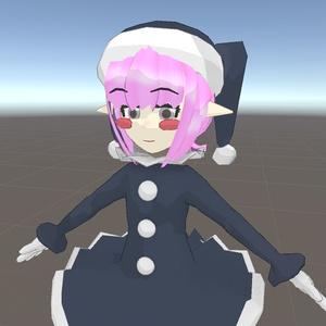VRC想定オリジナル3Dモデル『プリンセスゴブリン』
