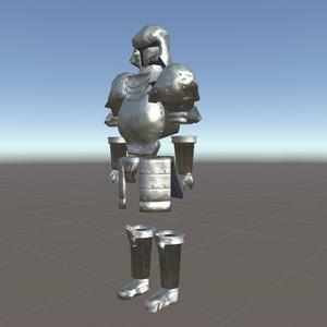 オリジナル3Dモデル素材「Plate Armor」△6014