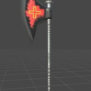【武器】教会大斧