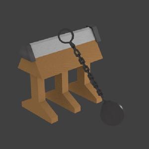 【無料】ファンシー椅子とファンシー足飾り