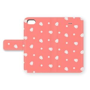 だるまのiPhoneカバー(赤地に白)