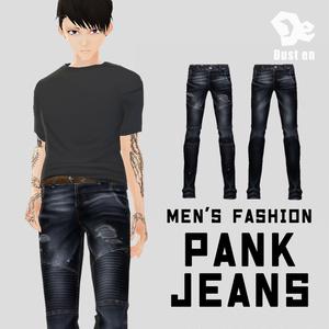 【男性VRoid向け】パンクジーンズ【試着あり】