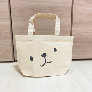 シロクマのランチトートバッグ