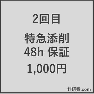 科研費.comの特急添削 48時間以内保証(1,000円)2回目