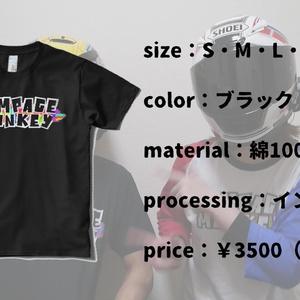 RMカラーTシャツ(ブラック)