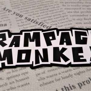RM公式モノクロステッカー(2枚セット)