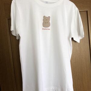 【Tシャツ】くまのナックルザックくん・正面ナックル