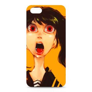 iPhoneケース:テッポウ女