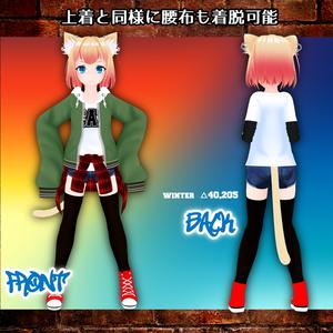 オリジナル3Dモデル『NATSUNA~ナツナ~』